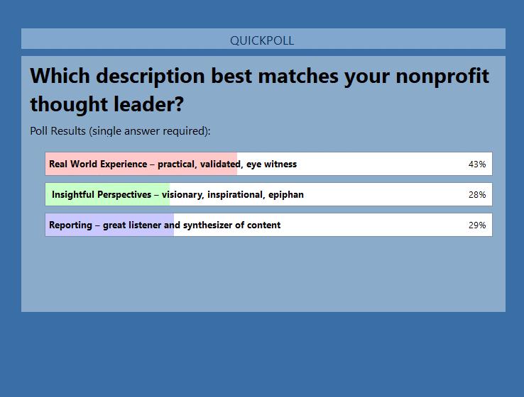 GoToWebinar polling
