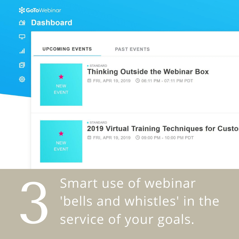 Webinar Consulting Services Virtual Training